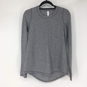 Lululemon Tuck And Flow LS Size 6